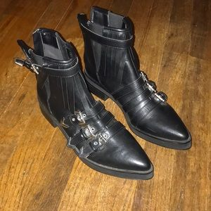 Coconuts By Matisse Black Buckle Boots